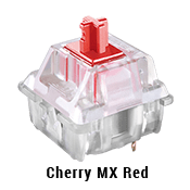 Cherry MX Red Switches (Linear and Quiet)