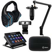 [$200 OFF] Streamer Bundle - All Star ($969 Value)-Microphone + Webcam + Headset + Stream Deck Control + Video Capture Device