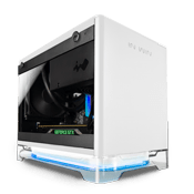 In Win A1 Mini-iTX RGB Gaming Case - White with Wireless Charging and PSU Included
