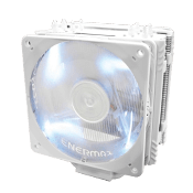 ENERMAX 120mm ETS-T40F-W CPU Cooler- White-White