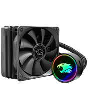 iBUYPOWER 120mm RGB Liquid Cooling System-iBUYPOWER 120mm Fan (Black) [Ryzen]