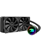 iBUYPOWER 240mm Addressable RGB Liquid Cooling System - Black