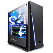 iBUYPOWER Trace 2 Tempered Glass RGB Gaming Case