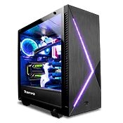 iBUYPOWER Slate 2 Tempered Glass RGB Gaming Case