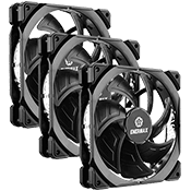 3x [Black] Enermax T.B. Silence ADV 120mm Ultra Silent Fan