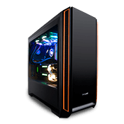 be quiet! Silent Base 601 Gaming Case - Black with 2 Pure Wing Fans