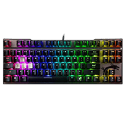 MSI VIGOR GK70 RGB Mechanical Gaming Keyboard [Red Switches]-Cherry Red Switches; RGB LED