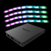 NZXT HUE 2 RGB Lighting Kit-4x Individually addressable RGB LED strips