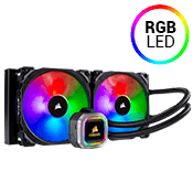 Corsair Hydro Series H115i RGB PLATINUM 240mm Liquid CPU Cooling System-[Ryzen]