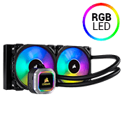 Corsair Hydro Series H100i RGB PLATINUM 240mm Liquid CPU Cooler