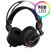 1MORE Spearhead VR Gaming Over-Ear 7.1 Stereo Surround Sound Headset with Dual Mic Noise Cancellation and LED Light-1MORE Spearhead VR Gaming Over-Ear 7.1 Stereo Surround Sound Headset with Dual Mic Noise Cancellation and LED Light