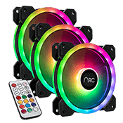 3x [RGB] iBUYPOWER RGB 120mm Fan