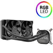 EVGA 240mm CLC RGB Liquid CPU Cooling System