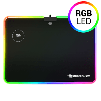 8948815605a iBUYPOWER RGB Qi® Wireless Charging Mouse Pad