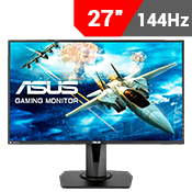 "27"" [1920 x 1080] ASUS VG278Q EYE CARE GAMING MONITOR - 144Hz 1ms - AMD FreeSync + G-Sync Compatible + Eye Care-Single Monitor"