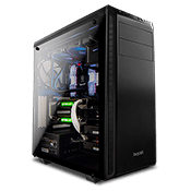 be quiet! Pure Base 600 Tempered Glass Gaming Case - Black