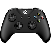 Microsoft Xbox One S Wireless Controller for Windows - Black