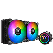 Thermaltake Water 3.0 240 ARGB Sync Edition RGB Liquid Cooling System-[Ryzen]