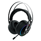 Gamdias HEBE P1A RGB Virtual 7.1 Surround Sound Gaming Headset