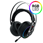 Gamdias HEBE P1A RGB Virtual 7.1 Sound Gaming Headset