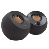 Creative Pebble 2.0 USB-Powered Speaker System - Black