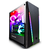 iBUYPOWER Trace 2 PRO Tempered Glass ARGB Gaming Case