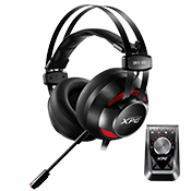 ADATA XPG EMIX H30 SE Gaming Headset W/ Solox F30 Amplifier