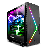iBUYPOWER Slate 2 Pro Tempered Glass ARGB Gaming Case