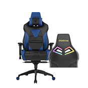 Gamdias Achilles M1 L Gaming Chair w/ RGB Back Lighting - [Black/Blue] ($379 value)