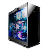 InWin 305 Tempered Glass Gaming Case - Black