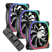 3x [ARGB] ENERMAX SquA 120mm Addressable RGB Fan
