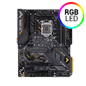 ASUS TUF Z390-PLUS GAMING -- RGB, 802.11ac WiFi, USB 3.1 (6 Rear, 4 Front), ASUS TUF Protection