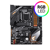 GIGABYTE Z390 AORUS ELITE -- RGB, Gb LAN, USB 3.1 (6 Rear, 2 Front), Digital VRM Design