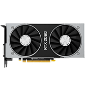NVIDIA GeForce RTX 2060 - 6GB GDDR6 (VR-Ready)