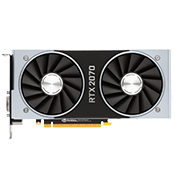 NVIDIA GeForce RTX 2070 - 8GB GDDR6 (VR-Ready)