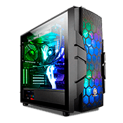 Thermaltake Commander C33 TG ARGB Tempered Glass Gaming Case
