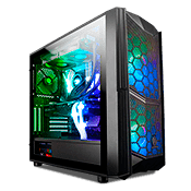 Thermaltake Commander C35 TG ARGB Tempered Glass Gaming Case