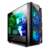 Thermaltake Commander C36 TG ARGB Tempered Glass Gaming Case
