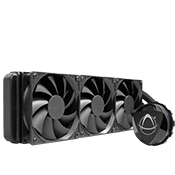 Asetek 690LS 360mm Liquid Cooling System-Z490