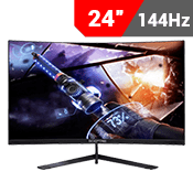 "24"" [1920x1080] Sceptre C248B-144RN Curved Gaming Monitor - 144HZ 3ms - AMD FreeSync Compatible-Single Monitor"