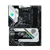 ASRock X570 STEEL LEGEND - ARGB Header (1), USB 3.2 Ports (1 Type-C, 7 Type-A), M.2 Slot (2)