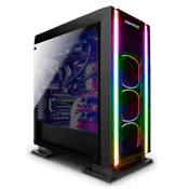 Enermax Saberay ADV Front and Side Tempered Glass ARGB Gaming Case
