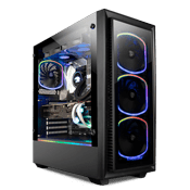 Enermax StarryFort SF30 Front and Side Tempered Glass ARGB Gaming Case