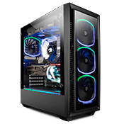 Enermax Saberay StarryFort SF30 Front and Side Tempered Glass ARGB Gaming Case