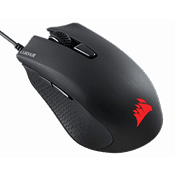 Corsair Harpoon RGB PRO FPS/MOBA Gaming Mouse-12000 DPI laser sensor; RGB color customizable backlighting