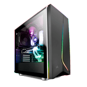 CORSAIR Carbide SPEC-06 RGB Tempered Glass Case - Black