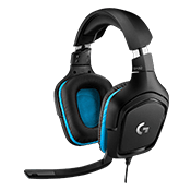 Logitech G432 7.1 Surround Sound Gaming Headset-Logitech G432 7.1 Surround Gaming Headset