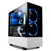NZXT H510 Elite Tempered Glass RGB Gaming Case - Matte White