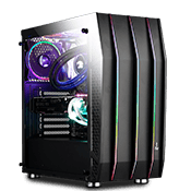 AeroCool Klaw Tempered Glass ARGB Gaming Case