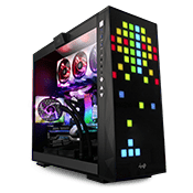 InWin 309 Gaming Case - Black with Addressable RGB LED Front Panel